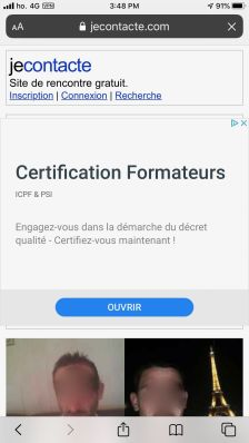 JeContact Application