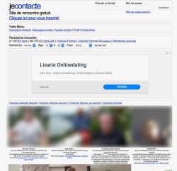 JeContact Inscription