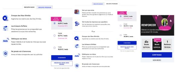 OkCupid Formules